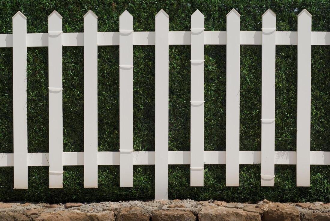 Vinyl Fence is tough, durable and adds curb appeal.